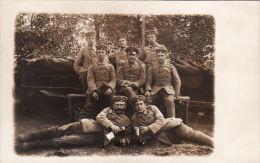 CP Photo 14-18 MOIREY (Moirey-Flabas-Crépion Près Damvillers) - Jager Batt 7 - Chasseurs à Pied Allemand (A45, Ww1, Wk1) - France