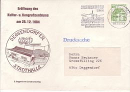 PU 113/71  Eröffnung Des Kultur-u.Kongreßzentrum 1984, Deggenddorfer Stadthalle - BRD