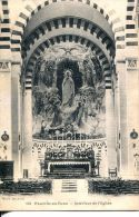 N°35403 -cpa Fauville En Caux -intérieur De L'église- - Andere Gemeenten