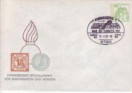 PU  113/27  Pirmasenser Spezialmarkt Für Briefmarken Und Münzen - BRD