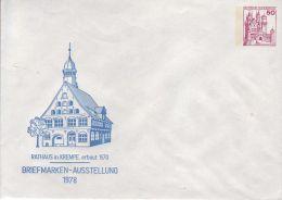 PU 112/80**  Briefmarken-Ausstellung 1978 - Rathaus In Krempe, Erbaut 1570 - Privatumschläge - Ungebraucht