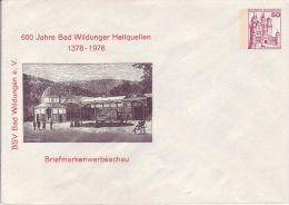 PU  112/73**   600 Jahre Bad Wildungen Heilquellen 1378-1978 - BSV Bad Wildungen E.V - Privatumschläge - Ungebraucht