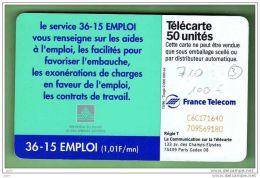 F 710 36-15 EMPLOI *** N° DE SERIE INVERSE *** COTE 120€ *** TBE/TTBE *** (1429) - Variétés