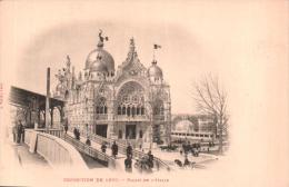 75 PARIS EXPOSITION  DE 1900 PALAIS DE L'ITALIE CARTE PRECURSEUR PAS CIRCULEE - Expositions