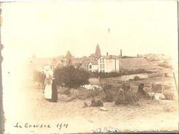 Photographie Ancienne Du Croisic (44), Vue Prise Du Mont-Esprit, Bretonne, Photo De 1901 - Places