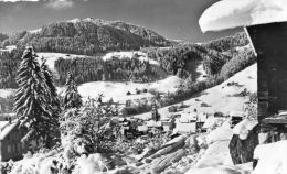 CPSM - La CLUSAZ (74) - Alt. 1047 M. - Vue Générale Et Plateau De Beauregard - La Clusaz