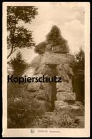 ALTE POSTKARTE DIEKIRCH DEIWELSELTER Luxemburg Luxembourg Teufelsfels Teufel-Fels Rock Roche Cpa Postcard Ansichtskarte - Diekirch