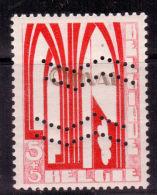 Orval Chevron, 258A, 5c+5c ** Avec Double Perforation. RR + Certificat Balasse - Unused Stamps