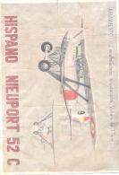 HISPANO NIEUPORT 52 C - ARMAMENTO 2 AMETRALLADORAS SINCRONIZADAS VICKERS DE 7.7 MILIMETROS - [ 3] 1936-1975 : Regency Of Franco