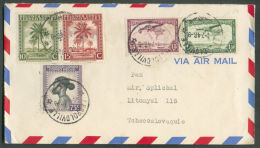 Lettre De LEOPOLDVILLE Le 4-7-1946 Vers La Tchecoslovaquie - 9515 - Congo Belge