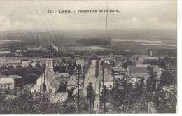 LAON -02- PANORAMA DE LA GARE - Laon