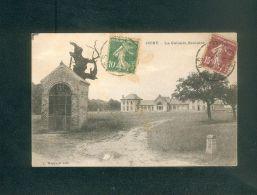 Dury ( Amiens 80) - La Colonie Scolaire (  Borne Kilometrique Ed. Hacquart) - Autres Communes