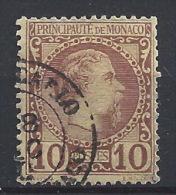 LZ--015.  N° 4,  Obl.  ,  COTE  50.00 € , LIQUIDATION , A Saisir - Monaco