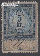 1883 - ÖSTERREICH - Steuer/Fiscal - Fiscaux