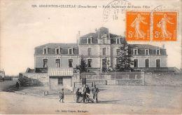 ¤¤   -  826   -  ARGENTON-CHATEAU  -  Ecole Supérieure De Jeune Filles  -  ¤¤ - Argenton Chateau