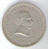 URUGUAY 5 CENTESIMOS 1953 - Uruguay