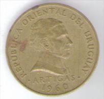 URUGUAY 5 CENTESIMOS 1960 - Uruguay