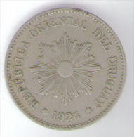 URUGUAY 5 CENTESIMOS 1924 - Uruguay