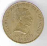 URUGUAY 10 CENTESIMOS 1960 - Uruguay