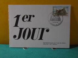 Carte Maxi / FDC, Église De Brou - 01 Bourg En Bresse - 15.2.1969 - 1er Jour - FDC