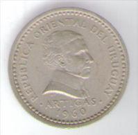 URUGUAY 25 CENTESIMOS 1960 - Uruguay