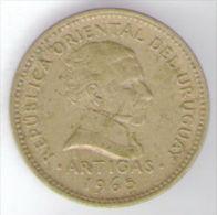 URUGUAY 1 PESO 1965 - Uruguay