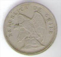 CILE 5 CENTAVOS 1928 - Cile