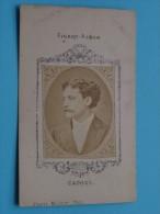 CAPOUL - Format CDV Kaart / Anno 19?? Collection Figaro-Album ( Zie Foto Voor Détails ) ! - Oud (voor 1900)