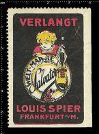 Old Original German Poster Stamp(advertising Cinderella, Reklamemarke)Shoes,Boots, Schuhe,Stiefel, Frog,grenouille,Fr... - Cinderellas