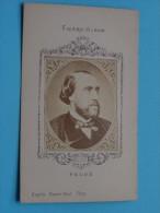 FAURE - Format CDV Kaart / Anno 19?? Collection Figaro-Album ( Zie Foto Voor Détails ) ! - Oud (voor 1900)