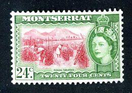 404) Montserrat  SG#145  Mnh** Offers Welcome - Montserrat