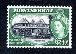 407) Montserrat  SG#148  Mint* Offers Welcome - Montserrat