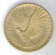 CILE 2 CENTESIMOS 1968 - Cile