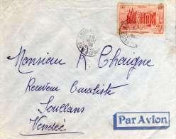 Enveloppe  Envoyée D'Afrique  Côte D'Ivoire   Avec Timbre  Du Soudan Année 1951 - Soudan (1954-...)