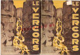 26-38- GUIDE ILLUSTRE DU VERCORS-SYNDICAT INITIATIVE LA CHAPELLE EN VERCORS1936-24 ITINERAIRES - Midi-Pyrénées