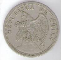 CILE 1 PESO 1933 - Chile