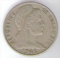 COLOMBIA 5 CENTAVOS 1946 - Colombia