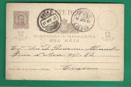 PORTUGAL**********NICE OLD CARD*********3 - Postal Stationery
