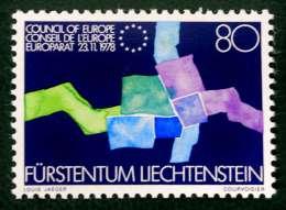 ADHESION AU CONSEIL DE L'EUROPE 1979 - NEUF ** - YT 670 - MI 729 - Ungebraucht