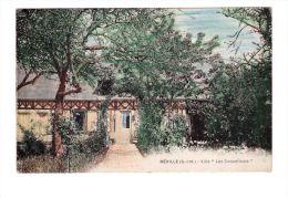 76 Néville Villa Les Coquelicots , Cachet Néville - Autres Communes