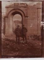 Photo Originale 1917 Romania - MUNCELU (judet De Vrancea) - Une Vue (A45, Ww1, Wk1) - Roemenië