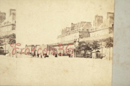 Photo Stéréoscopique STEREO Stereoview :  St Saint Malo - Porte De Dinan Circa 1900 - Stereoscoop