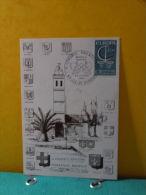 Carte Maxi / FDC, Europa CEPT - 83 Ile De Bendor - 8 &9.10.1966 - 1er Jour - Europa-CEPT