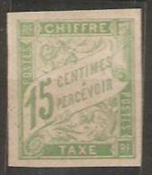 Colonies Générales Taxe N° 20 * Trace De Charniére Belles Marges Et 21 Oblitéré Beau Bord De Feuille  Colonie Générale - Taxes