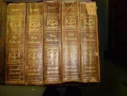 1910   MON PROFESSEUR  Encyclopédie Autodidactique QUILLET - Encyclopédies