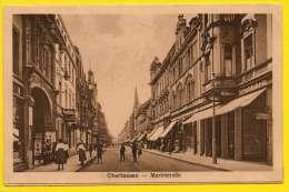 CPA OBERHAUSEN. Marktstrasse - Oberhausen