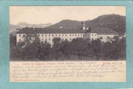 BRIXEN  -  INSTITUT DER  ENGLISCHEN FRÂULEIN  -  1906   -  BELLE  CARTE PRECURSEUR - ( Timbre Enlevé )  - - Altre Città