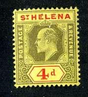 480 ) St.Helena SG.#66 Mint*  Offers Welcome - Saint Helena Island