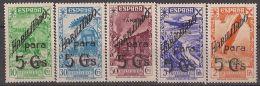 TABE12-L4116.Maroc Espagnol.Spanish Morocco .TANGER ESPAÑOL..HISTORIA DEL CORREO.BENEFICENCIA. 1941.(Ed 12/16**) - Marruecos Español