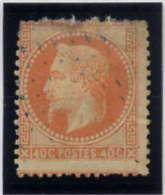 *** 23 *** 40 C ORANGE - 1862 Napoleon III